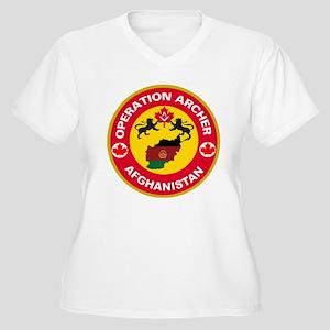 Operation Archer Women's Plus Size V-Neck T-Shirt