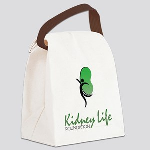 Kidney Life Canvas Lunch Bag