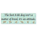 SAR Breed (ver 3) Bumper Sticker