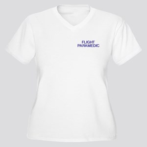 Flight Paramedic Women's Plus Size V-Neck T-Shirt