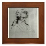 Beethoven Framed Tile