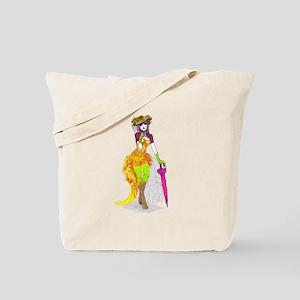 Edwardian Pin Up Tote Bag