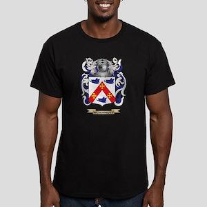 McDermott Coat of Arms Men's Fitted T-Shirt (dark)