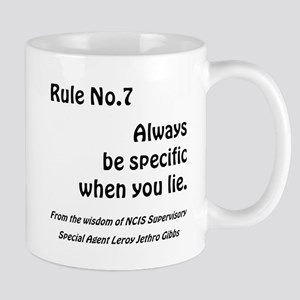 RULE NO 7 Mugs