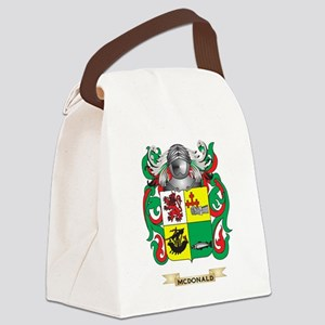 McDonald-(Slate) Coat of Arms - F Canvas Lunch Bag