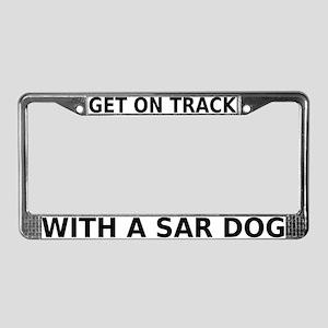 SAR Breed (ver 2) License Plate Frame
