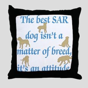 SAR Breed (ver 2) Throw Pillow