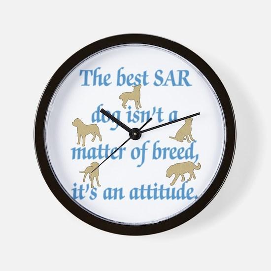 SAR Breed (ver 2) Wall Clock