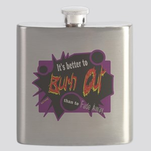 Burn/Fade-Neil Young Flask