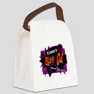 Burn/Fade-Neil Young Canvas Lunch Bag