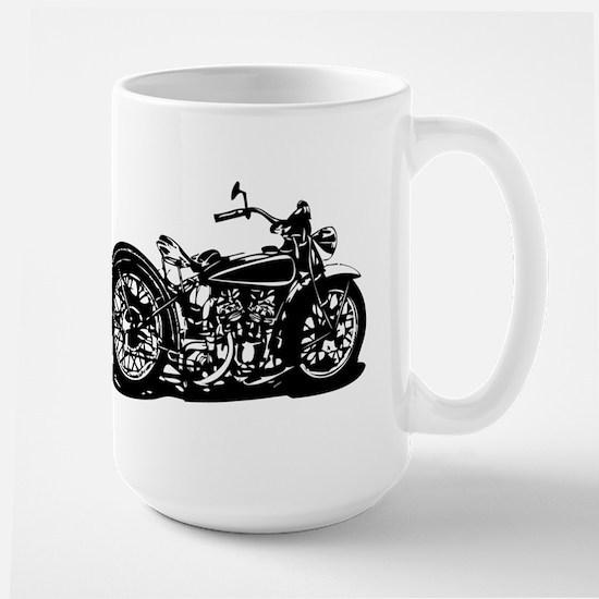 Vintage Motorcycle Mugs