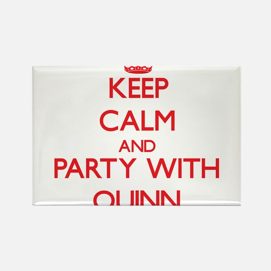 Keep Calm and Party with Quinn Magnets