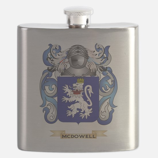 McDowell Coat of Arms - Family Crest Flask