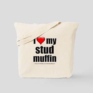 """Love My Stud Muffin"" Tote Bag"