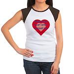 Share Your Heart Women's Cap Sleeve T-Shirt
