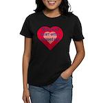 Share Your Heart Women's Dark T-Shirt