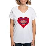 Share Your Heart Women's V-Neck T-Shirt