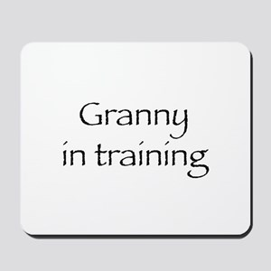Granny in training Mousepad