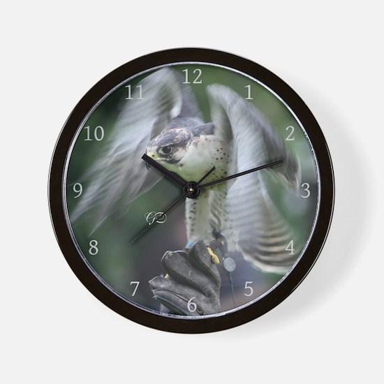 Falconry Wall Clock