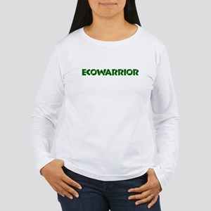 """Ecowarrior"" Women's Long Sleeve T-Shirt"
