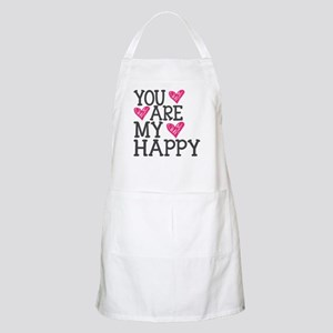 You Are My Happy Love Apron
