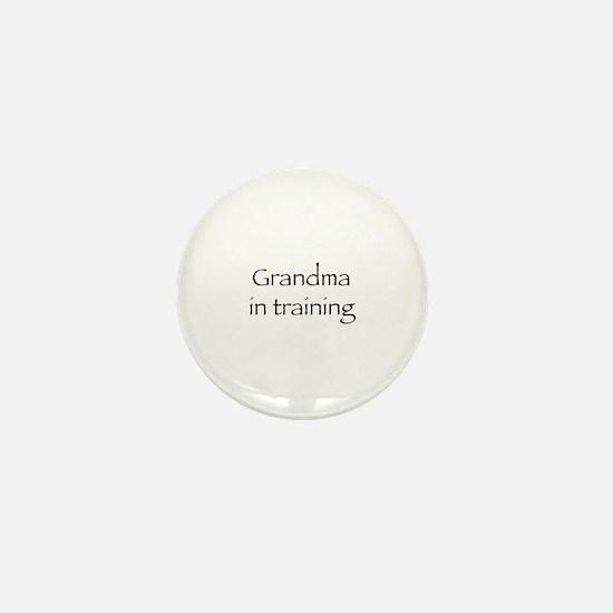 Grandma in training Mini Button