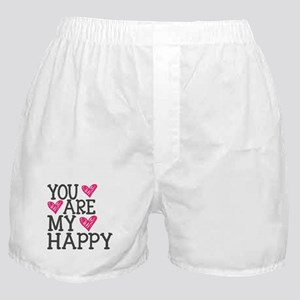 You Are My Happy Love Boxer Shorts