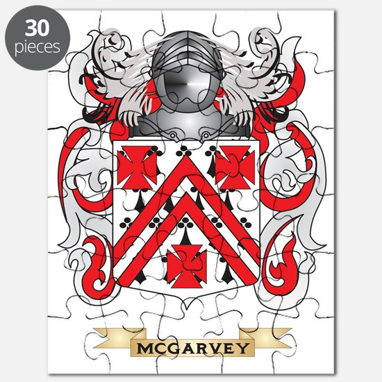 McGarvey Coat of Arms - Family Crest Puzzle