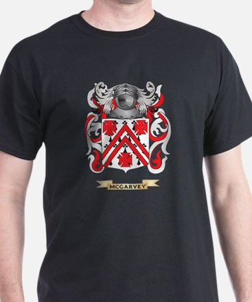 McGarvey Coat of Arms - Family Crest T-Shirt