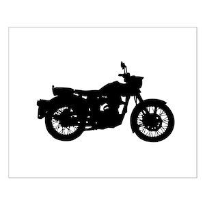Motorcycle Shadow Wall Art Cafepress