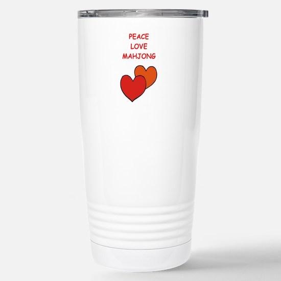 mahjong Travel Mug