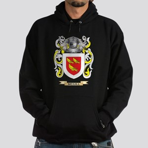 McGill Coat of Arms - Family Crest Hoodie (dark)
