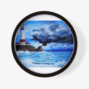 crashing waves Wall Clock