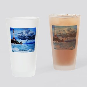 crashing waves Drinking Glass