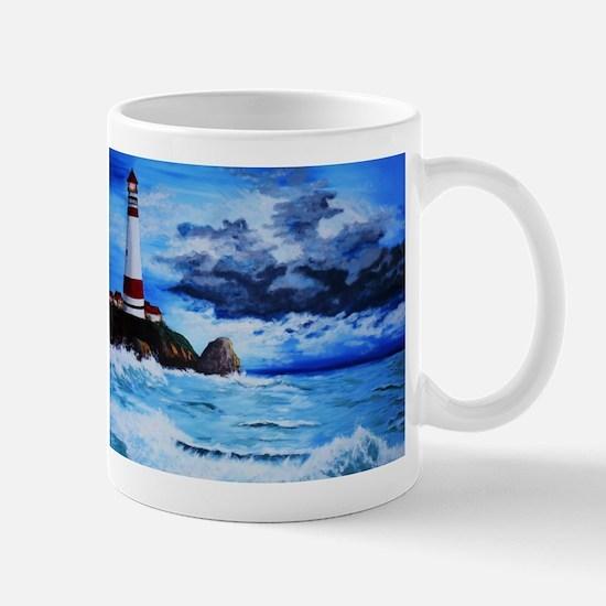 crashing waves Mugs