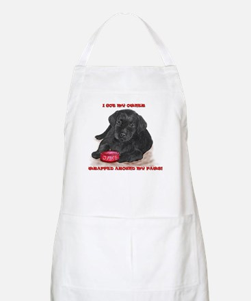 Lab Puppy Jake BBQ Apron
