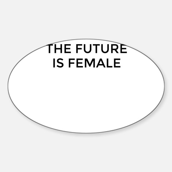 The Future Is Female Decal