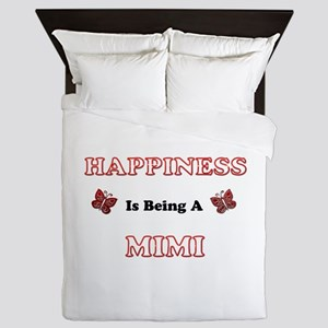 Happiness Is Being A Mimi Queen Duvet