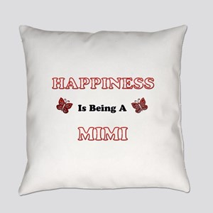 Happiness Is Being A Mimi Everyday Pillow