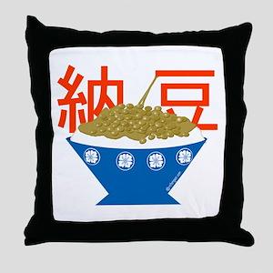 Natto Throw Pillow