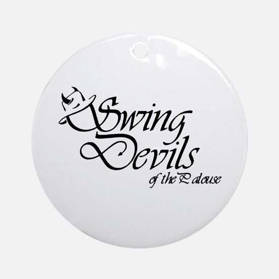 Swing Devils1 Ornament (Round)