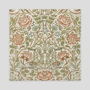 William Morris Rose Pattern Queen Duvet