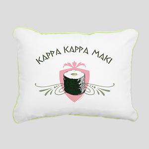 Kappa Kappa Maki Rectangular Canvas Pillow