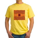 Minister SisterFace Graphic Yellow T-Shirt