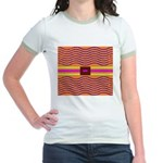 Minister SisterFace Graphic Jr. Ringer T-Shirt