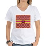 Minister SisterFace Graphic Women's V-Neck T-Shirt