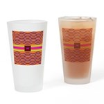 Minister SisterFace Graphic Drinking Glass