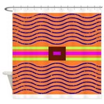 Minister SisterFace Graphic Shower Curtain