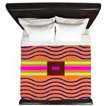 Minister SisterFace Graphic King Duvet