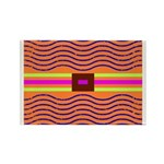 Minister SisterFace Graphic Rectangle Magnet (10 p
